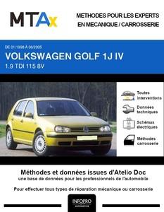 MTA Expert Volkswagen Golf IV 5 portes