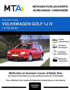 MTA Expert Volkswagen Golf IV break