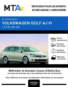 MTA Expert Volkswagen Golf VI break
