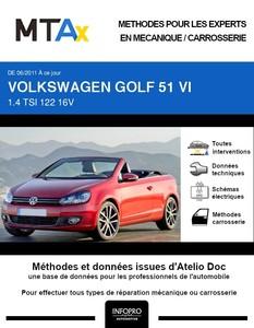 MTA Expert Volkswagen Golf VI cabriolet