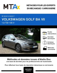 MTA Expert Volkswagen Golf VII break