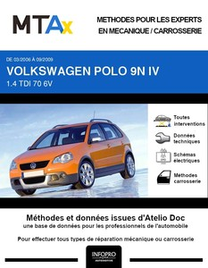 MTA Expert Volkswagen Polo IV 5 portes phase 2