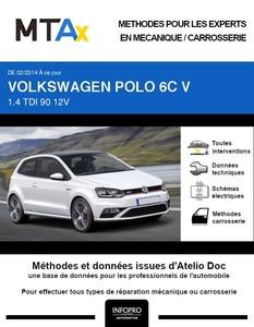 MTA Expert Volkswagen Polo V 3 portes phase 2
