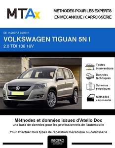 MTA Expert Volkswagen Tiguan I phase 1