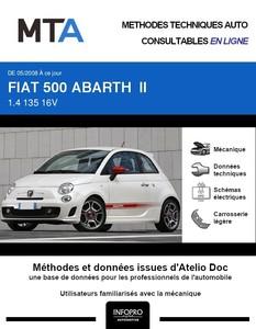 MTA Fiat 500 Abarth 3 portes phase 1