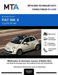 MTA Fiat 500 I cabriolet phase 1