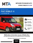 MTA Fiat Doblo II  chassis cabine phase 1