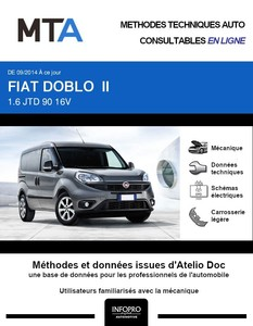 MTA Fiat Doblo II  fourgon 4p phase 2
