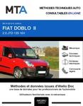 MTA Fiat Doblo II  fourgon 5p phase 1