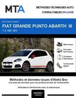 MTA Fiat Grande Punto III Abarth