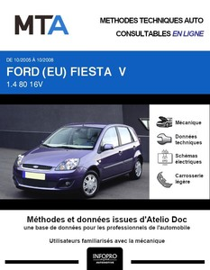 MTA Ford Fiesta V 5 portes phase 2