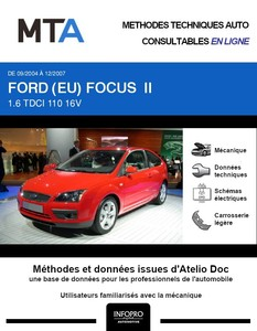 MTA Ford Focus II 3 portes phase 1