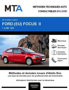 MTA Ford Focus II 3 portes phase 2