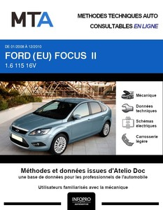 MTA Ford Focus II 5 portes phase 2