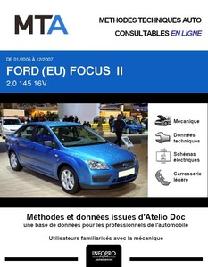 MTA Ford Focus II berline phase 1