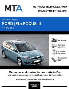 MTA Ford Focus II break phase 2