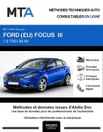 MTA Ford Focus III 5 portes phase 2