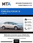 MTA Ford Focus III  berline phase 1