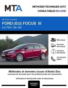 MTA Ford Focus III break phase 1