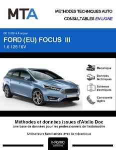 MTA Ford Focus III break phase 2