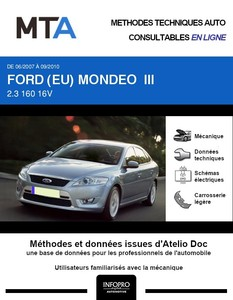 MTA Ford Mondeo III 5p phase 1