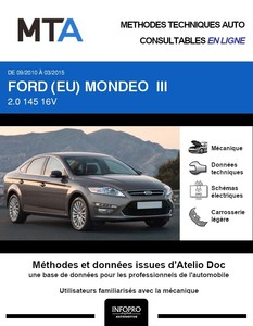 MTA Ford Mondeo III 5p phase 2