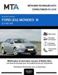 MTA Ford Mondeo III  berline phase 1