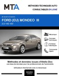 MTA Ford Mondeo III  berline phase 2
