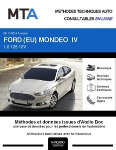MTA Ford Mondeo IV  berline phase 1