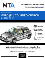 MTA Ford Tourneo Custom phase 1