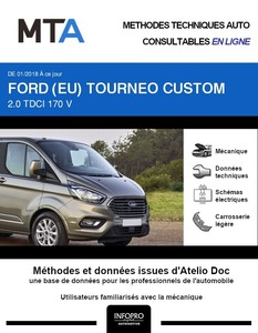 MTA Ford Tourneo Custom phase 2
