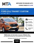 MTA Ford Transit Custom fourgon 4p phase 2