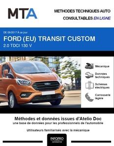 MTA Ford Transit Custom fourgon 4p phase 2