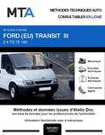 MTA Ford Transit III chassis cabine