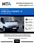 MTA Ford Transit III chassis double cabine