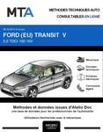 MTA Ford Transit V fourgon 4p