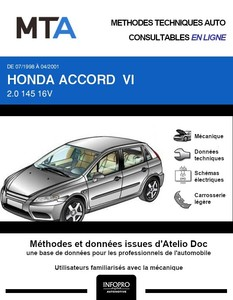 MTA Honda Accord VI  coupé phase 1