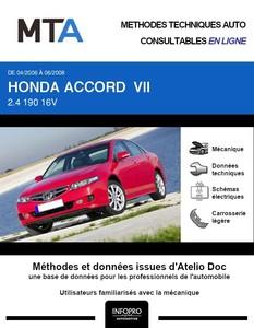 MTA Honda Accord VII  berline phase 2