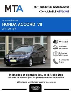 MTA Honda Accord VII  break phase 2