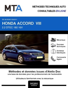MTA Honda Accord VIII  break phase 1