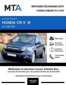 MTA Honda CR-V III  break phase 1