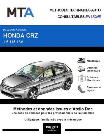 MTA Honda CR-Z coupé phase 1