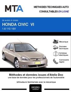 MTA Honda Civic VII berline phase 1