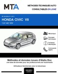 MTA Honda Civic VIII berline phase 2