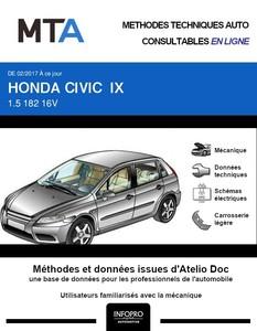 MTA Honda Civic X berline