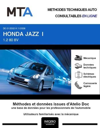 MTA Honda Jazz I phase 1
