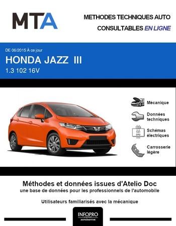 MTA Honda Jazz III phase 1