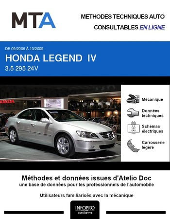 MTA Honda Legend IV berline