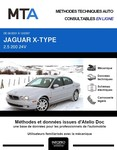 MTA Jaguar X-Type berline phase 1