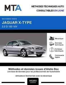 MTA Jaguar X-Type berline phase 2